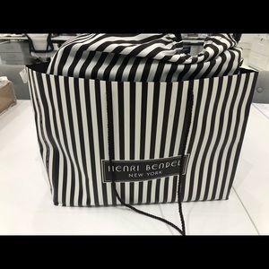 Henri Bendel Jetsetter Leather Backpack